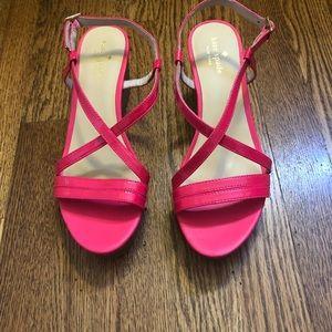 Kate Spade pink sandals